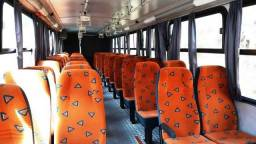 Bancada ônibus fixa e reclinável