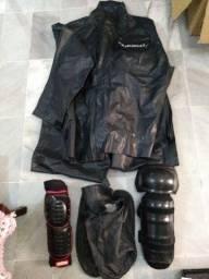 Roupa de chuva para motoqueiro