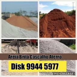 Disk Areia - Brita - Cascalho - Aterro - Terra Preta