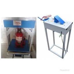 Máquina para fabricação de chinelos (compacta print)