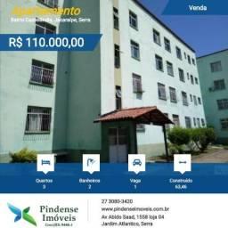 Venda apartamento em Castelândia, 3 quartos