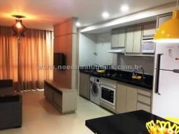 Excelente apartamento, 01 dormitório completo, 01 quadra do mar em Capão da Canoa