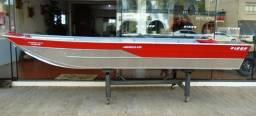 Barco de Alumínio Buricá 420 NOVO - 2019