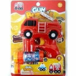 Brinquedo pistola bolhas de sabão bubble gun e fire truck no atacado e no varejo