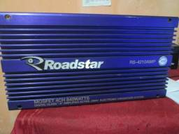Módulo roadstar rs-4210amp. 4 canais mono e estéreo