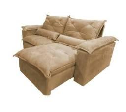 Faça Seu Pedido Lindo Sofá Retrátil Reclinável 2,30m Compre Hoje Receba Amanhã
