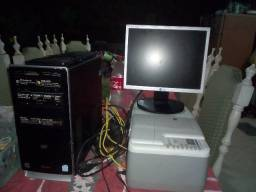 Computador +impressora HP