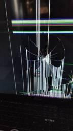 Tv Samsung smart quebrada tá nova