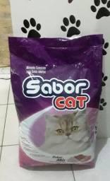 Promoção Racão Sabor Cat de 20kg por apenas $145,00