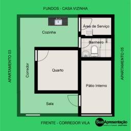 Apartamento 1 Quarto - Ao lado do Floro Mendonça