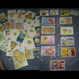 Item Coleção Anos 90! Raros! Cartões de Mensagens! Garfield e Diversos