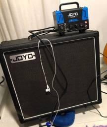 Amp Cabeçote valvulado + gabinete 1x12 celestion v30 guitarra