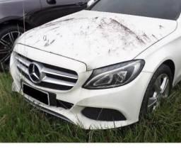 Sucata Mercedes c200 2016 - 2016