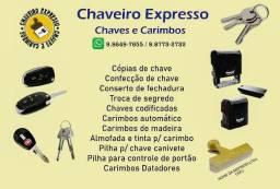 Chaveiro Expresso - Chaves e Carimbos