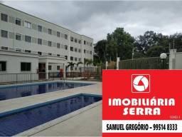 SAM 295 Apartamento 2Q com lazer completo na Serra - ITBI+RG grátis