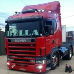 Scania r124 ga 360 4x2 2001
