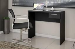 Escrivaninha Office Nt2000 preta #Entrega E Montagem Grátis