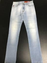 Calça jeans clara Ellus original slim