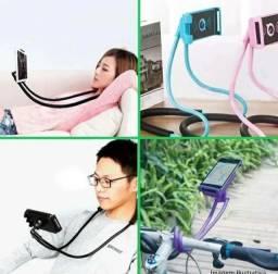 Phone Holder Suporte Celular Pescoço Colar Cama Articulado