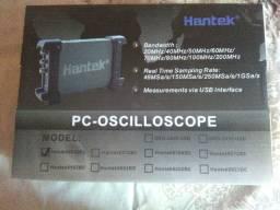 Hantek 6022BL Analisador Lógico 20MHz USB Osciloscópio Digital 2 CHs 48MSa / s 16 CHs