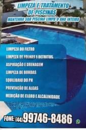 Piscineiro Limpeza e tratamento de piscinas
