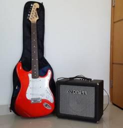 Guitarra Memphis MG22 + Caixa de som Monerr