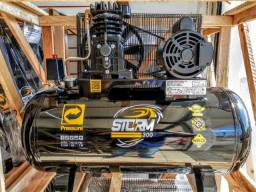 Compressor de Ar 10 Pés 100L Storm Pressure - 110/220V Mono