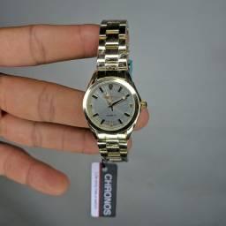 Relógio feminino de luxo CHRONOS