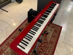 Piano Digital Casio PX-S1000 Vermelho - Somos LOJA