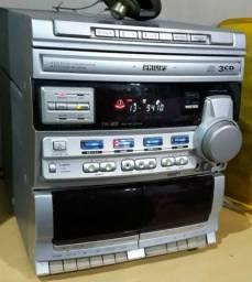 Mini system Philips - Leia o anúncio
