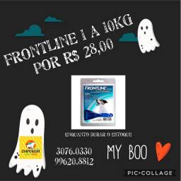 Anti-pulgas Frontline topspot 1 a 10kg