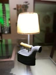 Luminária decoração retrô