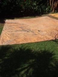 Lona grossa vinilona sansuy 500 micras 4 metros x 4 metros