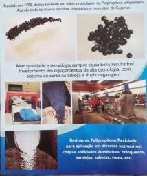 Resina de Polipropileno reciclável