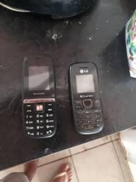 Vendo dois celulares bom pra quem trabalha  pesado
