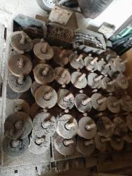 Lote de chapas e rodas para troller de Ponte/Talha Elétrica