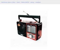 Rádio Retro Usb Sd Peandrive Am/fm/sw Lelong Le-610 Bivolt