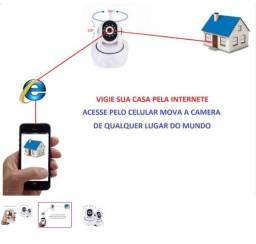 Camera ip - Wifi - Vigie pela internete