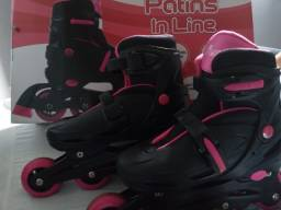Patins in line.