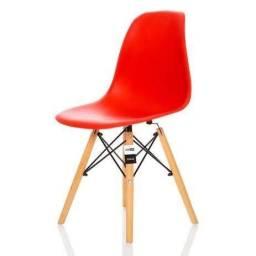 Cadeiras Charles Eames VERMELHAS
