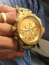 Relógio Nixon 51 30 Chrono All Gold