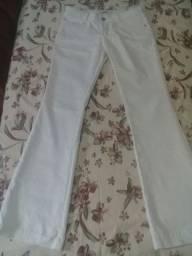 Calça branca tam 42