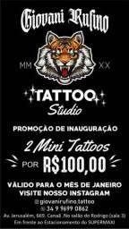 2 Tattoos por 100 reais