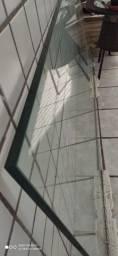 Tampo de Mesa vidro de 20mm (2mX0,90cm)