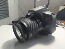 Câmera  Canon T6 + 2 lentes 18-55 e 50mm