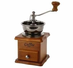 MOEDOR DE CAFÉ E GRÃOS MANUAL REGULÁVEL