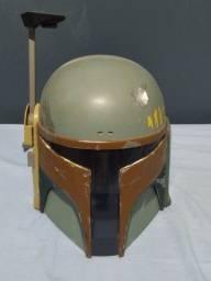 Capacete Boba Fett + Nave Star Wars
