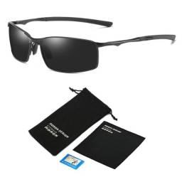 Óculos De Sol Quadrado Esportivo Masculino Feminino UV400 Polarizado Original A559