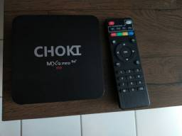 TV BOX CHOKI MxQPro5G ANDROID TV