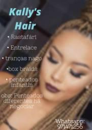 Penteados femininos e infantis !